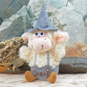 Laber-Schaf mit Tracht, sprechendes Kuscheltier