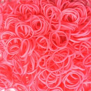 Rainbow Loom® Gummibänder Pink