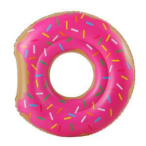 Schwimmreifen Angebissener Donut - pink