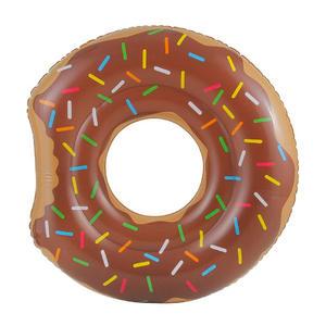 Schwimmreifen Angebissener Donut - braun