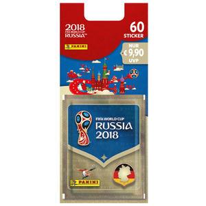 Panini WM 2018 Sticker Blister (Inhalt: 60 Sticker)