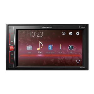 "Pioneer MVH-A210BT Mediacenter mit 6.2"" Clear Type Touchscreen"