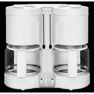 Krups KM8501 Duothek Plus weiß Duo-Kaffeemaschine