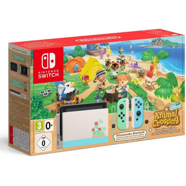 Nintendo Switch Animal Crossing Bundle 10003988 New Horizons (DLC)