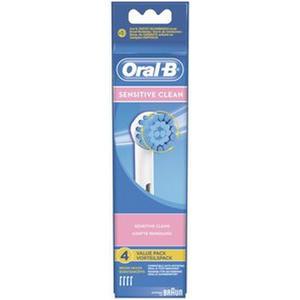 Oral-B Aufsteckbürsten Soft Clean 4er Weiß