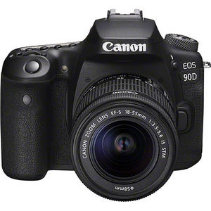 Canon EOS 90D + EF-S 18-55mm IS STM Digitale SLR Kamera
