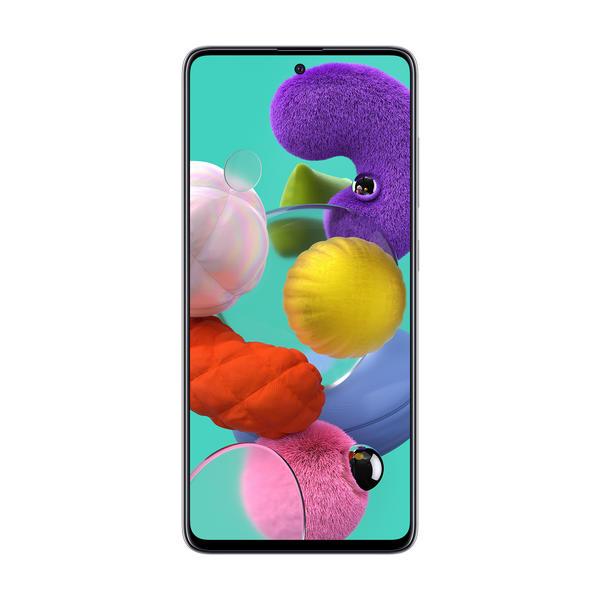 "Samsung Galaxy A51 Prism Crush White 6,5"" 128GB/4GB RAM SM-A515FZWVEUB"