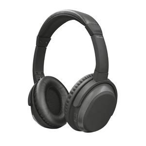 Trust Paxo schwarz 22451 Bluetooth Kopfhörer mit aktiver Rauschunterdrück.