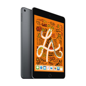 Apple iPad mini 5 WiFi 64GB Grau MUQW2 MUQW2FD/A grau/schwarz