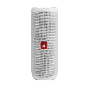 JBL Flip 5 weiß Spritzwasserfest, Bluetooth Lautsprecher