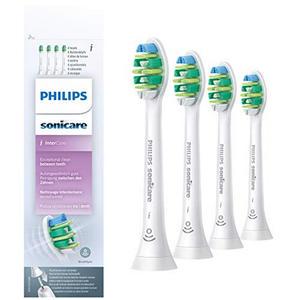 Philips HX9004/10 Aufsteckbürsten InterCare 4er Pack weiß