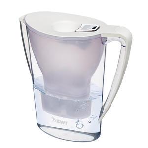 BWT WF8700 Tischwasserfilter 815070 Gourmet Edition Mg2+ Weiß, 2,7 Liter