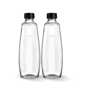 SodaStream Glasflasche Twinpack 1 Liter nur kompatibel mit DUO