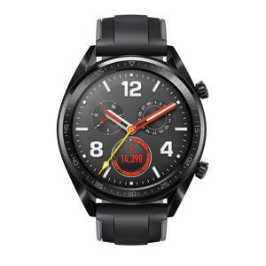 Huawei Watch Sport GT schwarz mit Silikonarmband