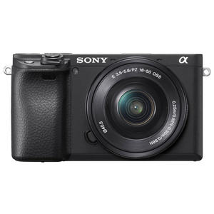 Sony ALPHA ILCE-6400LB KIT SELP 1650 Kompakte Systemkamera, Exmor CMOS Sensor