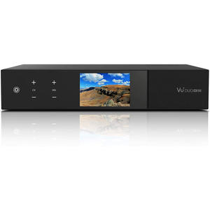 "VU+ Duo 4K SE 1x DVB-S2X FBC Twin Tuner Linux OS, USB-PVR, 3.5"" LC-Display"