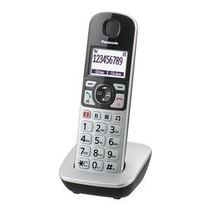 Panasonic KX-TGQ500 silber Senioren-Telefon mit IP-Technologie