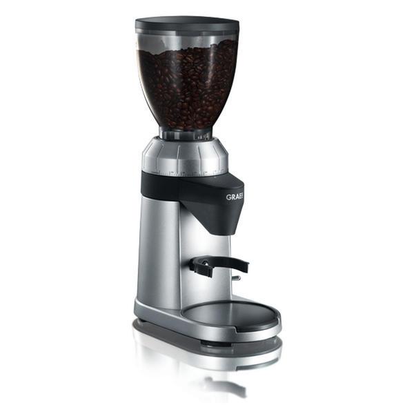 GRAEF CM800 Kaffeemühle Aluminiumgehäuse silber