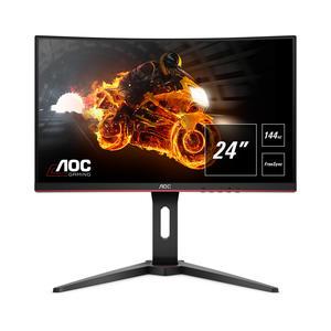 "AOC C24G1 23.6"" Full HD Gaming Monitor 144 Hz 1 ms MPRT FreeSync Premium"