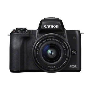 Canon EOS M50 schwarz EF-M 15-45 Kit Systemkamera