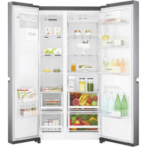 LG Electronics GSL461ICEZ A++ Side by Side mit Wassertank