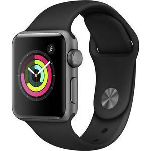 Apple Watch Series 3 GPS 38mm grau MTF02ZD/A Sportarmband Aluminiumgehäuse