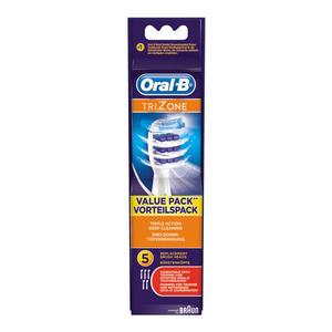Oral-B Aufsteckbürsten TriZone 5er Weiß