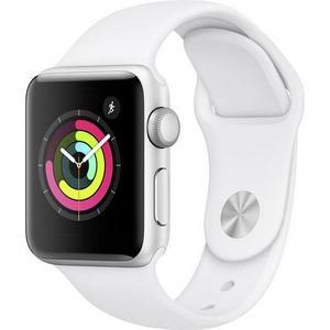Apple Watch Series 3 GPS 38mm silber MTEY2ZD/A Sportarmband Aluminiumgehäuse