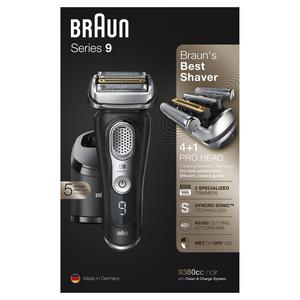 Braun Series 9 - 9380cc System* wet&dry Schwarz