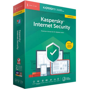 Kaspersky Internet Security 1 User Abonnement für 12 Monate, PKC, Upgrade*