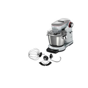 Bosch MUM9AX5S00 OptiMUM platinum silver Küchenmaschine, mit integrierter Waage