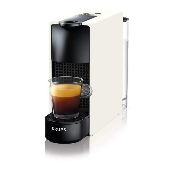 Krups XN1101 Essenza Mini White Nespresso Kapselmaschine Kaffeemaschine
