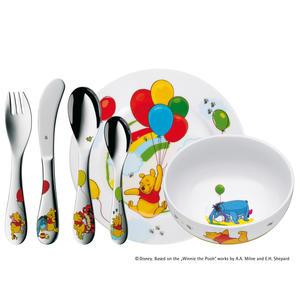 WMF Winnie the Pooh Kinder-Set, 6-tlg. 12.8350.9964 Kindergeschirrset