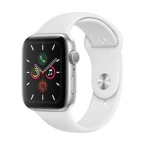 Apple Watch Series 5 GPS 44mm Silber MWVD2FD/A Sportarmband Aluminiumgehäuse
