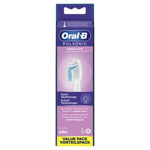 Oral-B Aufsteckbürsten Pulsonic Sensitive 4er