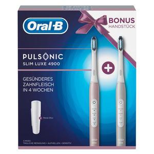 Oral-B Pulsonic Slim Luxe 4900 mit 2. Handstück u. Reiseetui