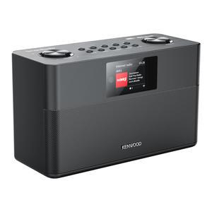 Kenwood CR-ST100S-B schwarz Smart-Radio mit DAB+ Bluetooth USB