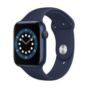 Apple Watch Series 6 GPS 44mm Blau M00J3FD/A Aluminiumgehäuse blau