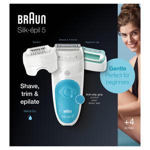 Braun Silk-épil 5-610 SensoSmartTM Weiß/Blau
