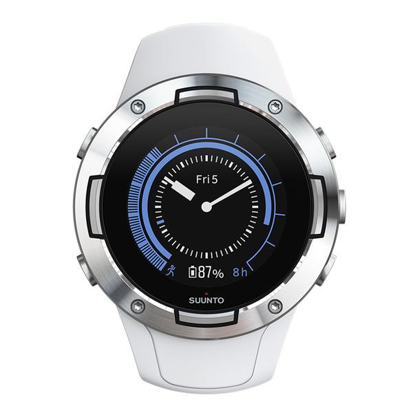 Suunto 5 weiß (SS050300000) GPS-Sportuhr