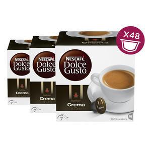 Nescafe Dolce Gusto Dallmayr Crema d'Oro 3er Pack, je 16 x 7,5g Kaffee(120g)