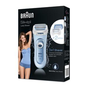 Braun Silk-épil Lady Shaver LS 5160 Blau