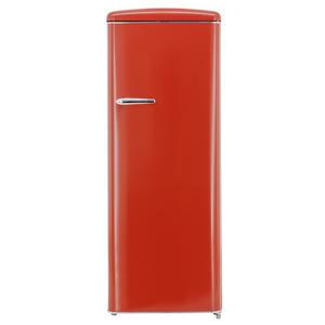 Exquisit RKS 325-16 RVA++ Rot Retro Kühlschrank ohne Gefrierfach
