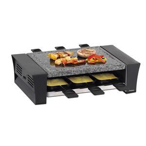 TRISA 7585.0112 Raclette Raclette mit Steinplatte für 6 Personen