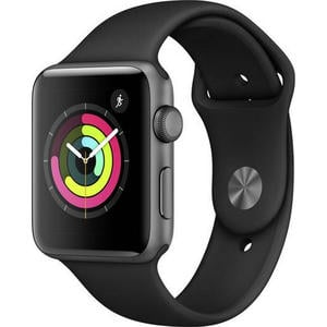 Apple Watch Series 3 GPS 42mm grau MTF32ZD/A Sportarmband Aluminiumgehäuse