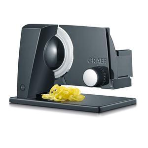 Graef Sliced Kitchen S 11002 schwarz Wellenschliffmesser