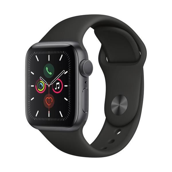 Apple Watch Series 5 GPS 40mm Grau MWV82FD/A Sportarmband Aluminiumgehäuse