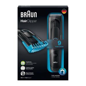 Braun HairClipper HC5010 schwarz