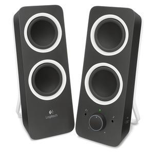 Logitech Z200 schwarz 2.0 System 980-000810 Multimedia Speakers