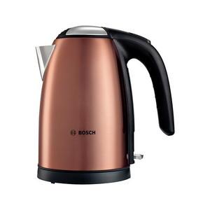 Bosch TWK7809 Wasserkocher 1,7 Liter Wasserkocher, Kupfer/schwarz